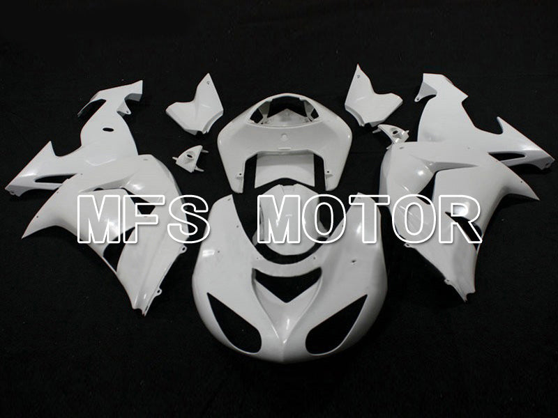 Injection ABS Unpainted Fairing For Kawasaki NINJA ZX10R 2006-2007 - Factory Style - White - MFS6322 - shopping and wholesale