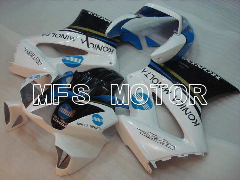 Injection ABS Fairing For Honda VFR800 2002-2013 - Konica Minolta - Svart Hvit - MFS6323 - Shopping og engros