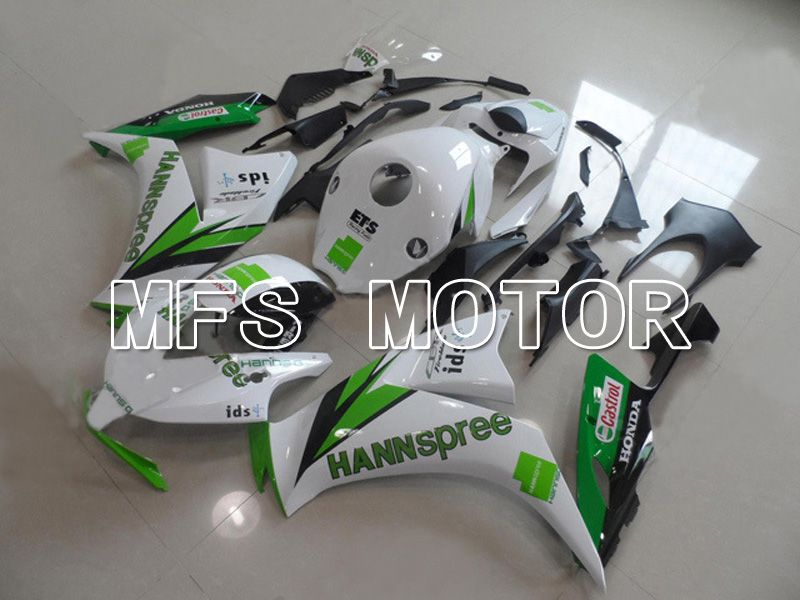Injection ABS Fairing For Honda CBR1000RR 2012-2016 - HANN Spree - Hvidgrøn - MFS6324 - Shopping og engros