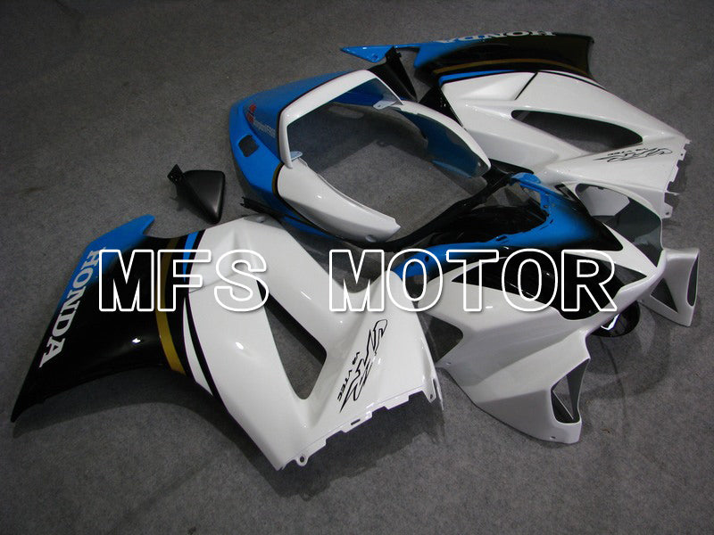 Injection ABS Fairing til Honda VFR800 2002-2013 - Fabriksstil - Sort Hvid - MFS6327 - Shopping og engros