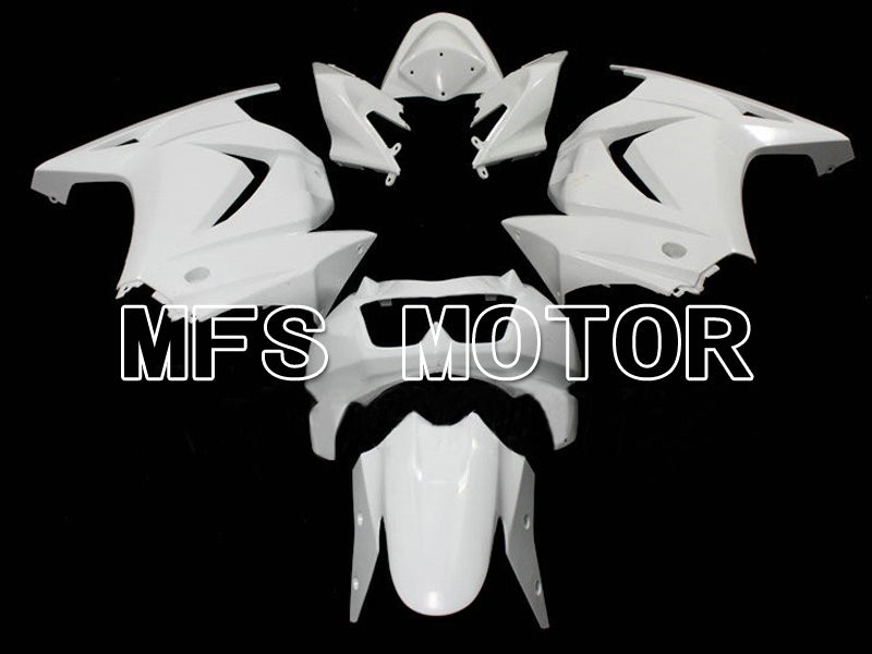 Injection ABS Unpainted Fairing For Kawasaki NINJA EX250 2008-2012 - Factory Style - White - MFS6333 - shopping and wholesale