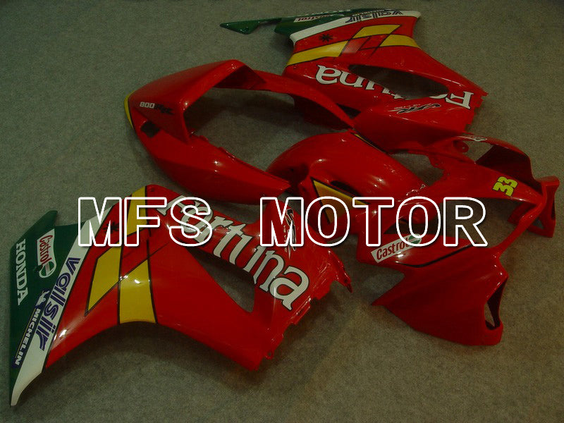 ABS Fairing For Honda VFR800 1998-2001 - Fortuna - Red - MFS6351 - shopping and wholesale