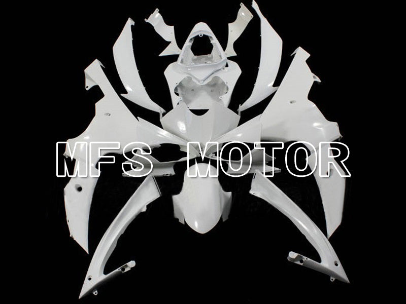 Injection ABS Unpainted Fairing For Yamaha YZF-R6 2008-2016 - Factory Style - White - MFS6352 - shopping and wholesale