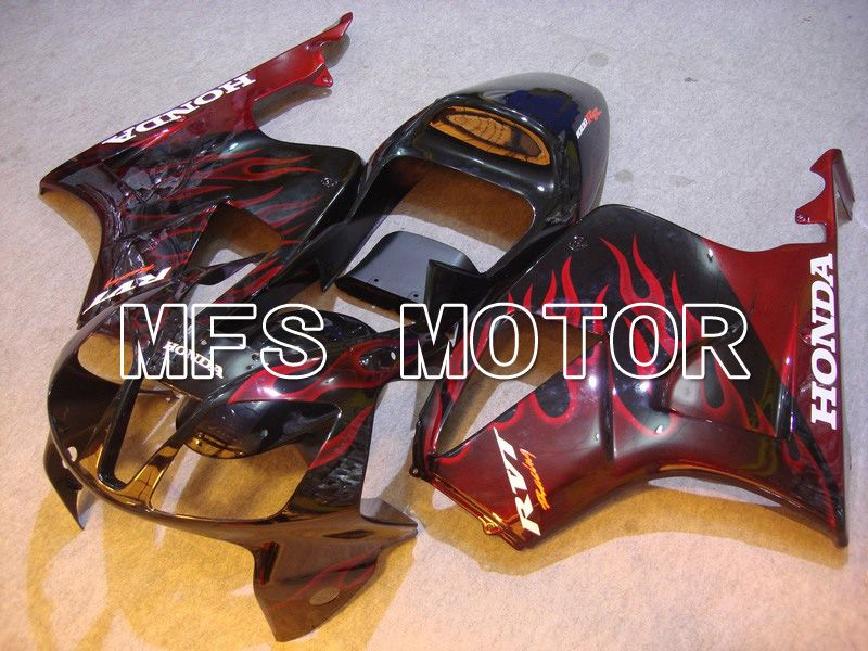 ABS Fairing For Honda VTR1000 RC51 2000-2006 - Flame - Black Red - MFS6354 - shopping and wholesale