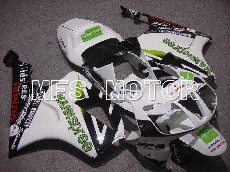 ABS Fairing For Honda VTR1000 RC51 2000-2006 - HANN Spree - Svart Hvit - MFS6357 - Shopping og engros