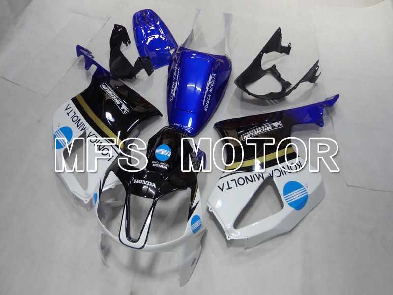 ABS Fairing For Honda VTR1000 RC51 2000-2006 - Konica Minolta - White Black Blue - MFS6360 - shopping and wholesale