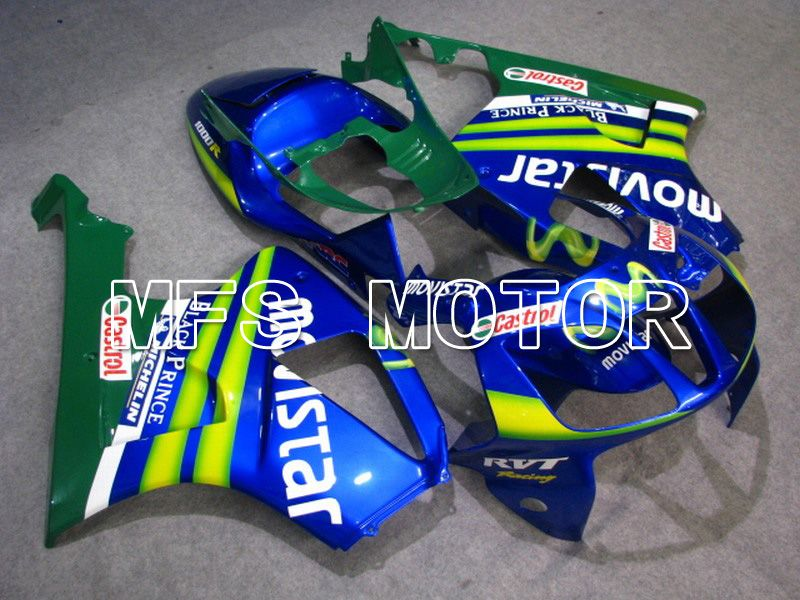 ABS Fairing For Honda VTR1000 RC51 2000-2006 - Movistar - Blå - MFS6364 - Shopping og engros
