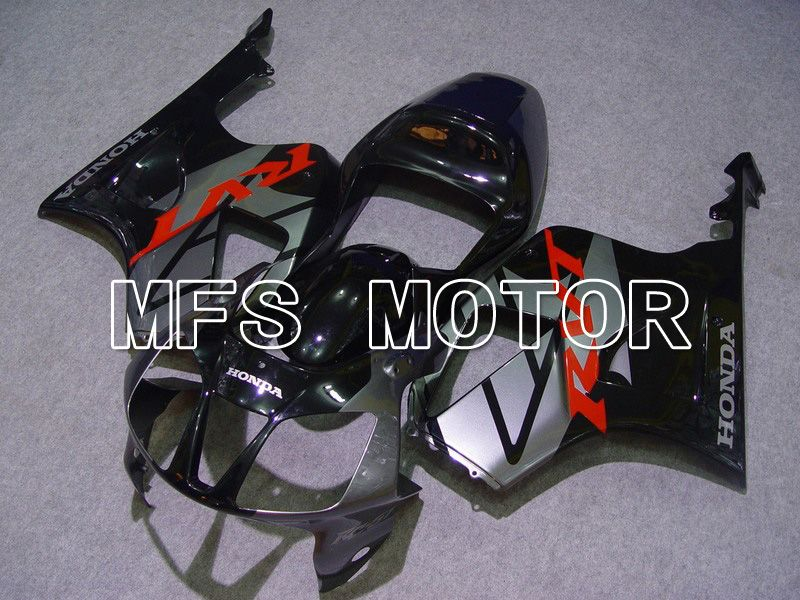 ABS Fairing For Honda VTR1000 RC51 2000-2006 - Fabrikkstil - Svart Grå - MFS6375 - Shopping og engros