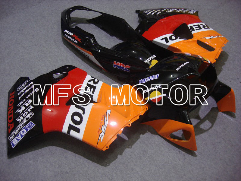 ABS Fairing For Honda VFR800 1998-2001 - Repsol - Red Black Orange - MFS6376 - shopping and wholesale