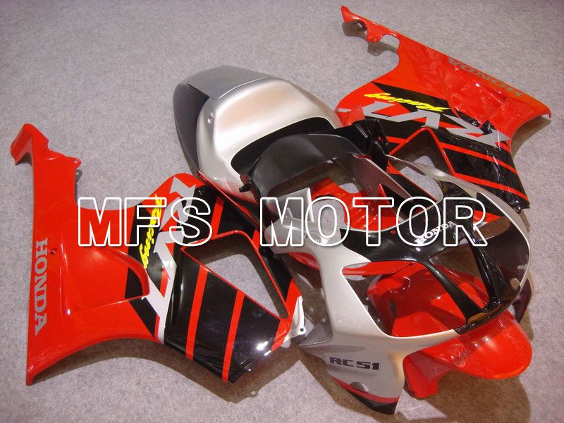 ABS Fairing For Honda VTR1000 RC51 2000-2006 - Fabrikkstil - Svart Rød - MFS6379 - Shopping og engros