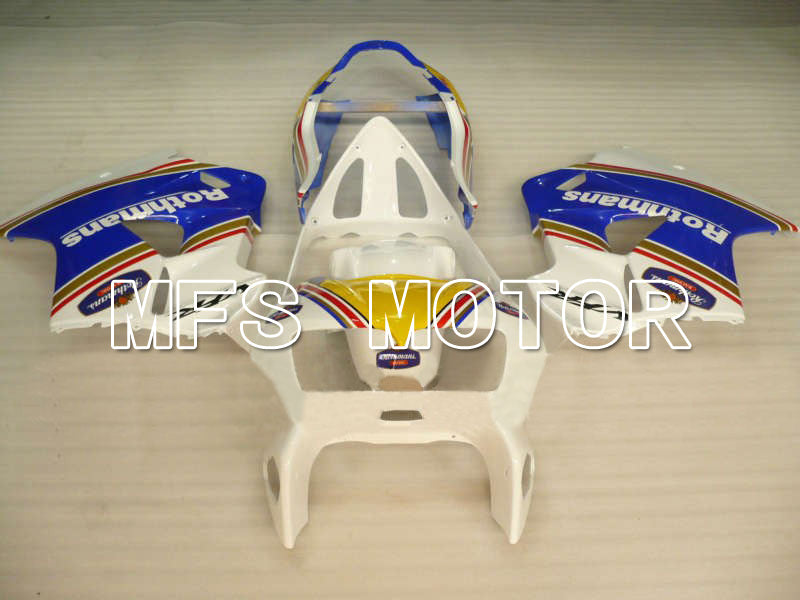 ABS Fairing For Honda VFR800 1998-2001 - Rothmans - Blue White - MFS6380 - shopping and wholesale