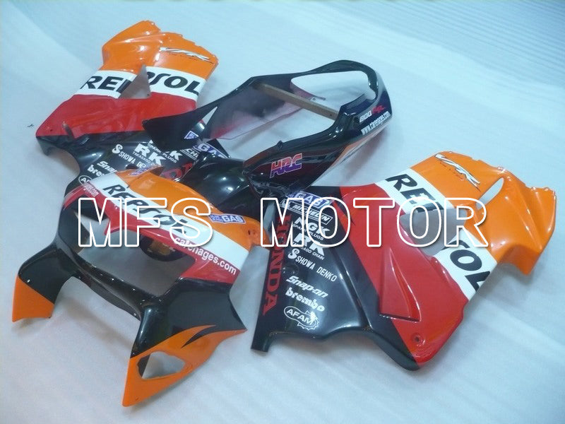 ABS Fairing For Honda VFR800 1998-2001 - Repsol - Red Black Orange - MFS6381 - shopping and wholesale