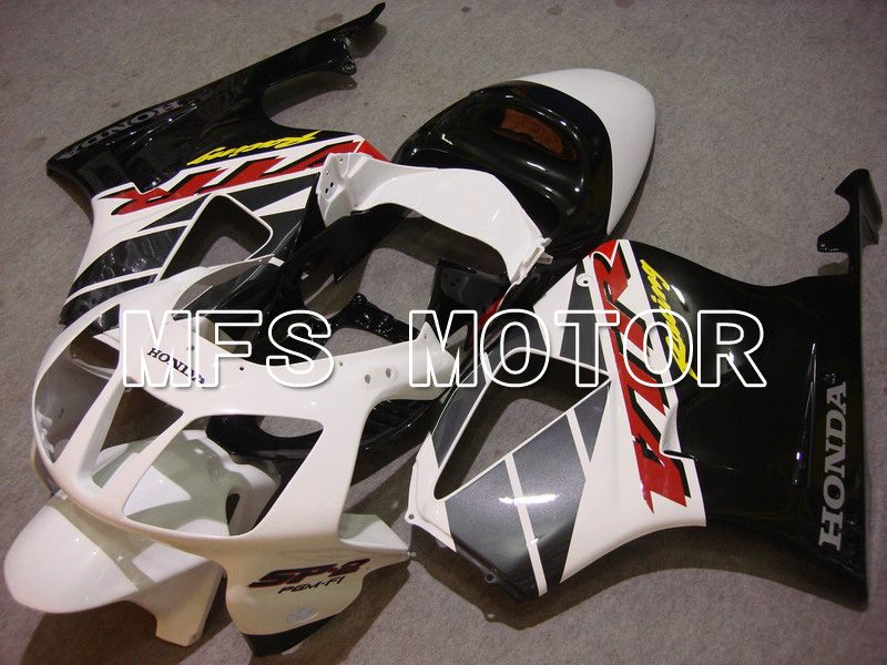 ABS Fairing For Honda VTR1000 RC51 2000-2006 - Fabrikkstil - Svart Hvit - MFS6382 - Shopping og engros