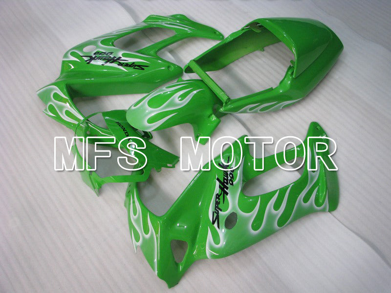 ABS Fairing For Honda VTR1000F 1997-1998 - Flame - White Green - MFS6405 - shopping and wholesale