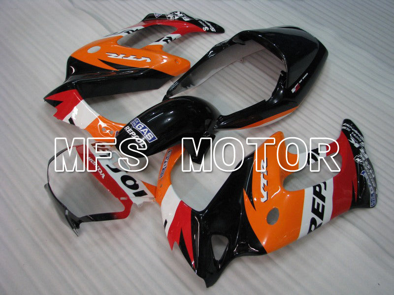 ABS Fairing For Honda VTR1000F 1997-1998 - Repsol - Red Orange Black - MFS6411 - shopping and wholesale