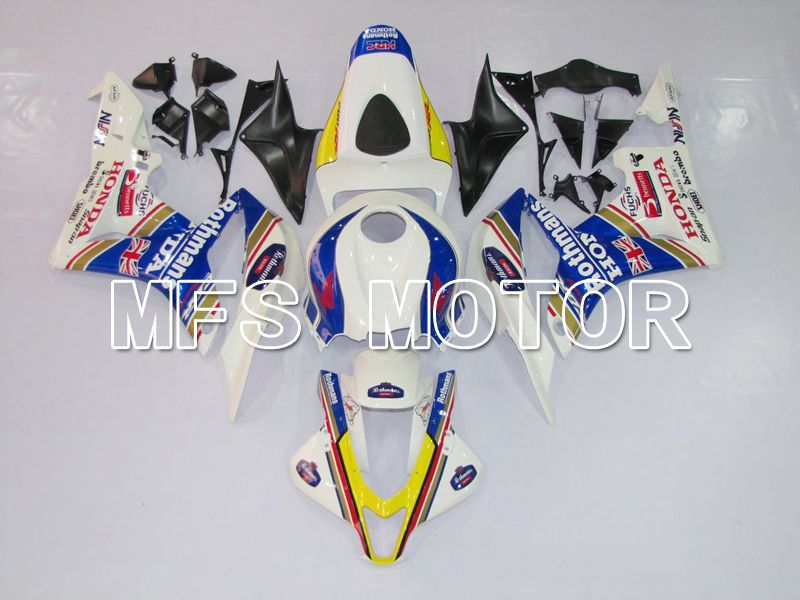 Injection ABS Fairing For Honda CBR600RR 2007-2008 - Rothmans - Blue White - MFS6412 - shopping and wholesale