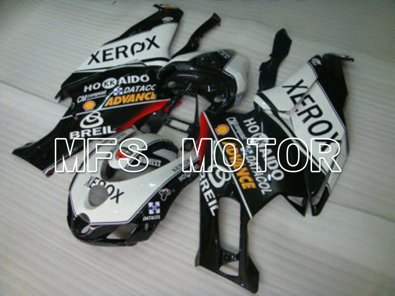 Injeksjon ABS Fairing For Ducati 749 / 999 2003-2004 - Xerox - Sort Hvit - MFS6433 - Shopping og engros