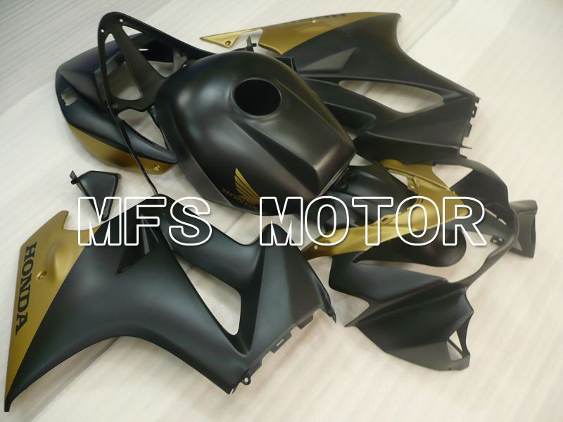 ABS Fairing For Honda VFR800 1998-2001 - Factory Style - Black Gold Matte - MFS6468 - shopping and wholesale