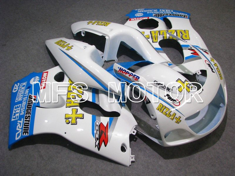 ABS Fairing For Suzuki GSXR750 1996-1999 - Rizla + - Blå Hvid - MFS6901 - Shopping og engros