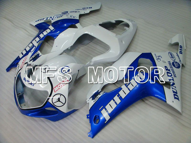 Injection ABS Fairing For Suzuki GSXR750 2000-2003 - Jordan - Blue White - MFS6938 - shopping and wholesale