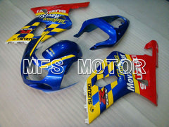 Injection ABS Fairing For Suzuki GSXR750 2000-2003 - Movistar - Rød Blå - MFS6940 - Shopping og engros