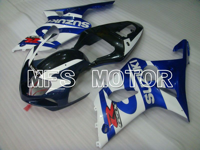 Injection ABS Fairing For Suzuki GSXR750 2000-2003 - Fabriksstil - Sort Blå Hvid - MFS6956 - Shopping og engros
