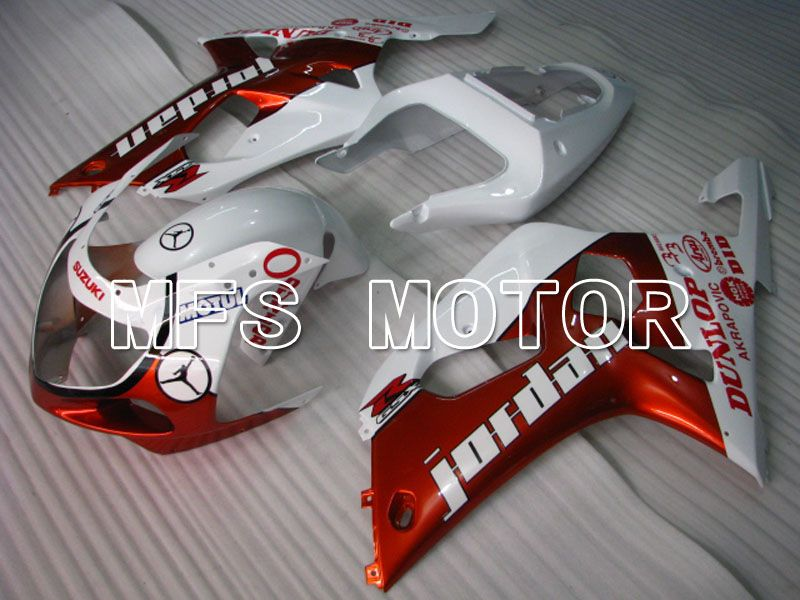 Injection ABS Fairing For Suzuki GSXR750 2000-2003 - Jordan - Red White - MFS6974 - shopping and wholesale