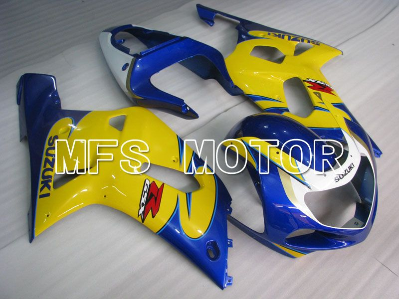 Injection ABS Fairing For Suzuki GSXR750 2000-2003 - Factory Style - Yellow Blue - MFS6977 - shopping and wholesale