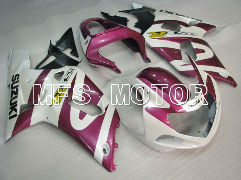 Injection ABS Fairing For Suzuki GSXR750 2000-2003 - Factory Style - White Purple - MFS6992 - shopping and wholesale