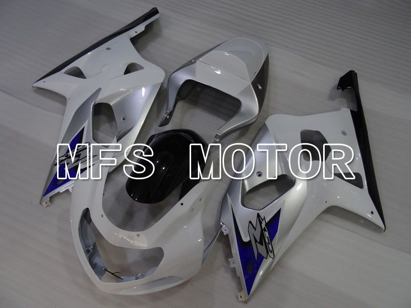 Injection ABS Fairing For Suzuki GSXR750 2000-2003 - Factory Style - White Silver - MFS6994 - shopping and wholesale