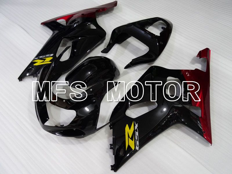 Injection ABS Fairing For Suzuki GSXR750 2000-2003 - Jordan - Svart Rød - MFS6997 - Shopping og engros