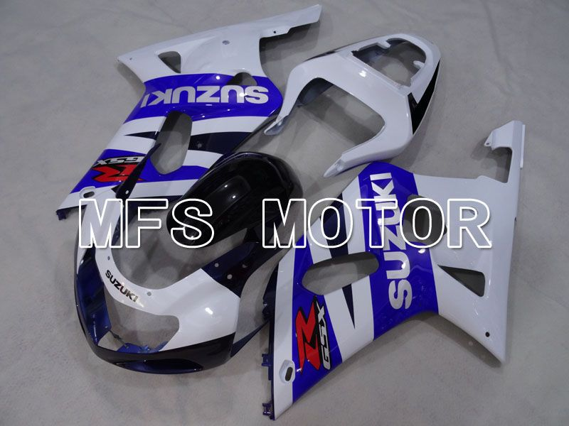 Injection ABS Fairing For Suzuki GSXR750 2000-2003 - Factory Style - White Blue - MFS7003 - shopping and wholesale