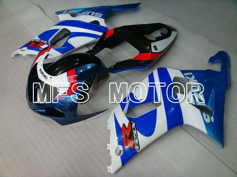 Injection ABS Fairing For Suzuki GSXR750 2000-2003 - Factory Style - White Blue - MFS7004 - shopping and wholesale
