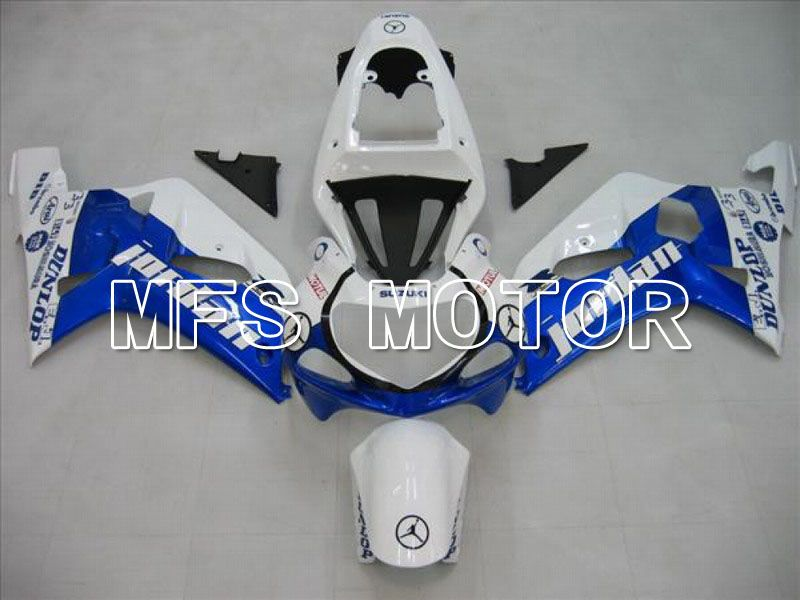 Injection ABS Fairing For Suzuki GSXR750 2000-2003 - Jordan - Blue White - MFS7026 - shopping and wholesale