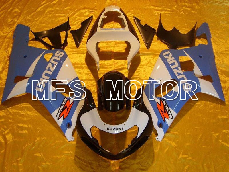 Injection ABS Fairing For Suzuki GSXR750 2000-2003 - Factory Style - White Blue - MFS7040 - shopping and wholesale