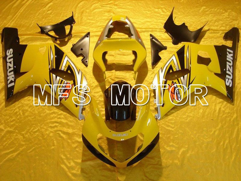 Injection ABS Fairing For Suzuki GSXR750 2000-2003 - Factory Style - Yellow - MFS7045 - shopping and wholesale