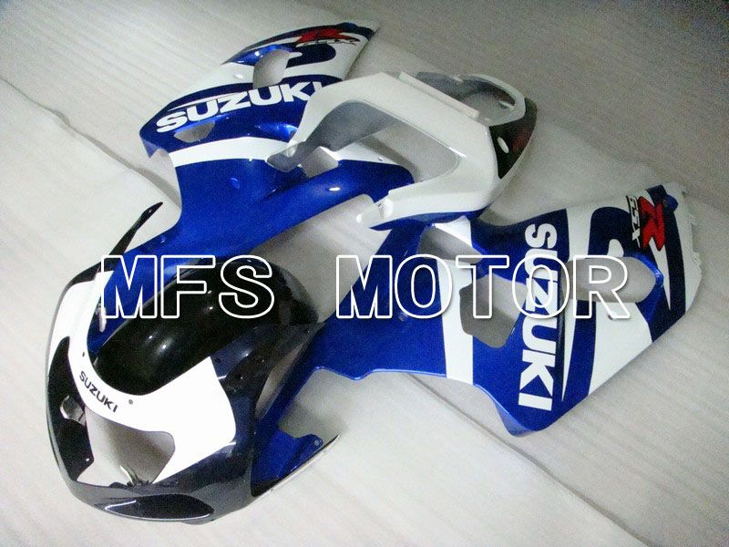 Injection ABS Fairing For Suzuki GSXR750 2000-2003 - Factory Style - White Blue - MFS7052 - shopping and wholesale