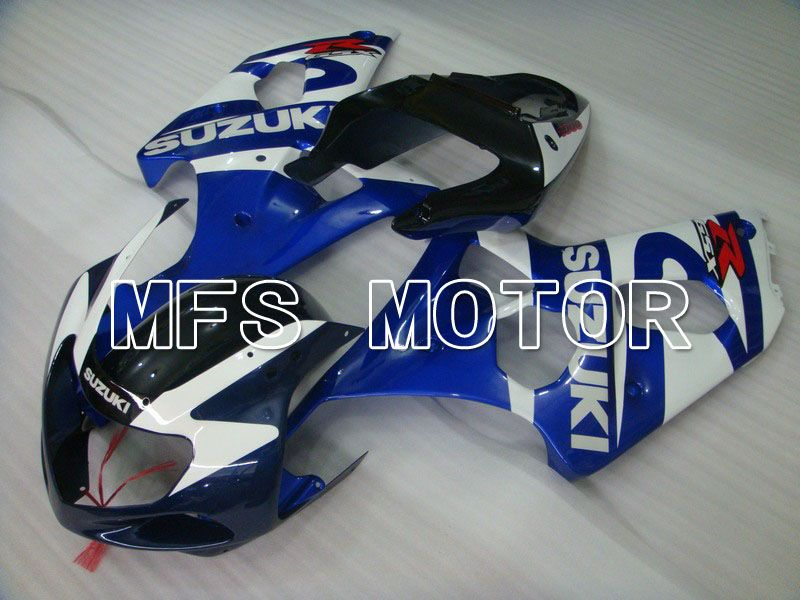 Injection ABS Fairing For Suzuki GSXR750 2000-2003 - Factory Style - White Blue - MFS7067 - shopping and wholesale