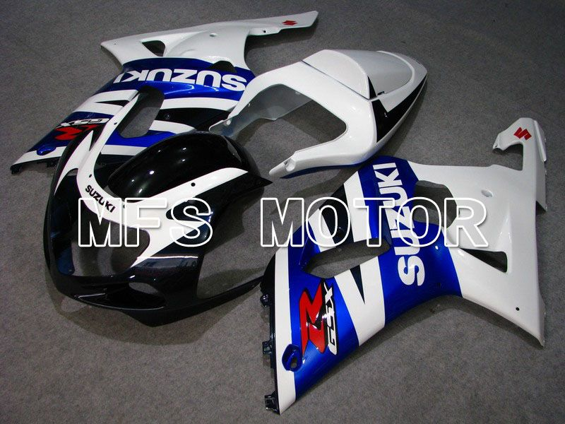 Injection ABS Fairing For Suzuki GSXR750 2000-2003 - Factory Style - White Blue - MFS7068 - shopping and wholesale