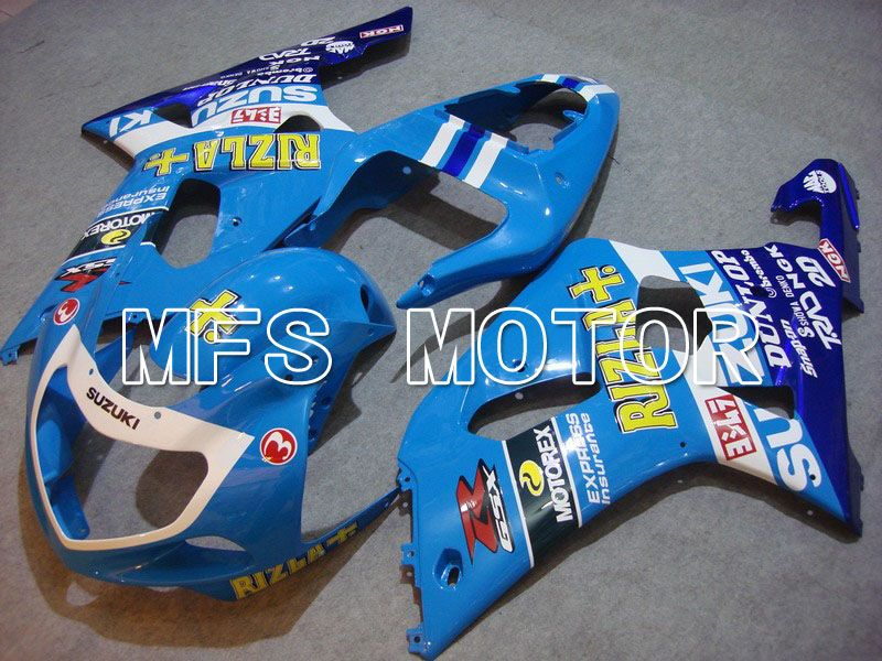 Injection ABS Fairing For Suzuki GSXR750 2000-2003 - Rizla + - Blå - MFS7070 - Shopping og engros