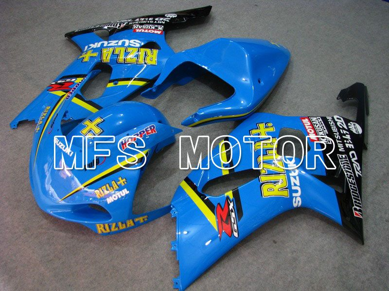 Injection ABS Fairing For Suzuki GSXR750 2000-2003 - Rizla + - Blå - MFS7071 - Shopping og engros
