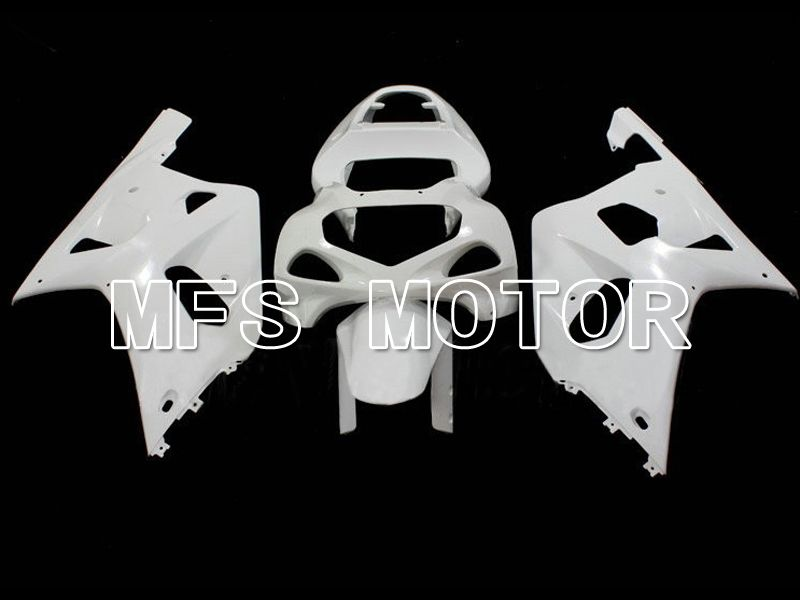 Injection ABS Unpainted Fairing For Suzuki GSXR750 2000-2003 K1 K2 - Factory Style - White - MFS7072 - shopping and wholesale