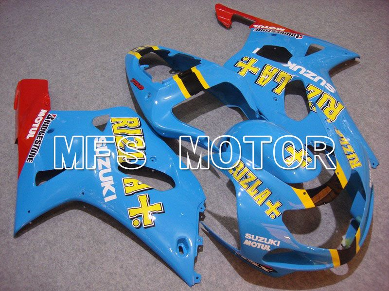 Injection ABS Fairing For Suzuki GSXR750 2000-2003 - Rizla + - Blå - MFS7073 - Shopping og engros