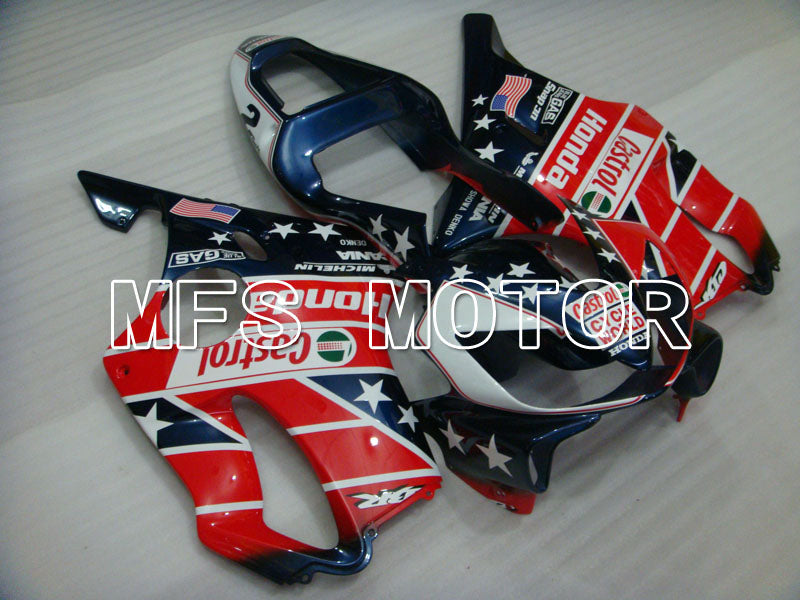 Injection ABS Fairing For Honda CBR600 F4i 2001-2003 - Andre - Blå Rød - MFS3144 - Shopping og engros