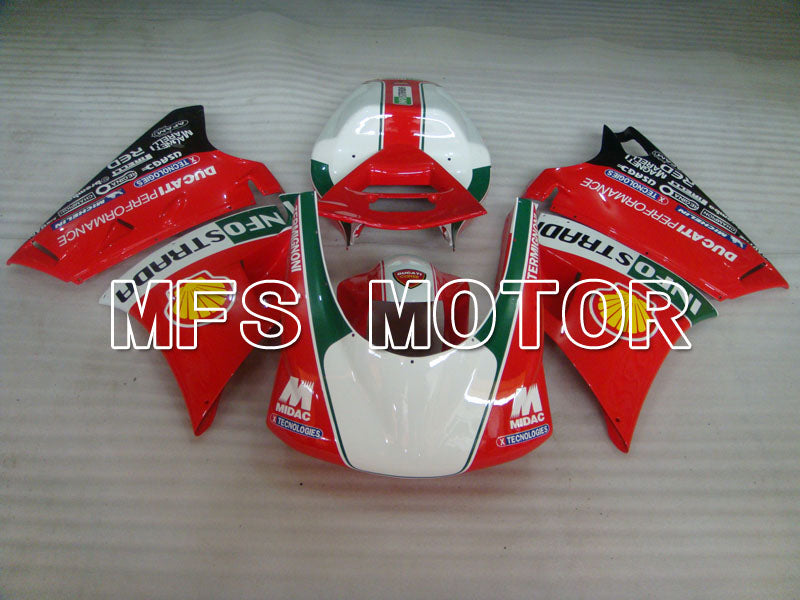 Injection ABS Fairing For Ducati 916 1994-1998 - INFO STRADA - Red - MFS4039 - shopping and wholesale