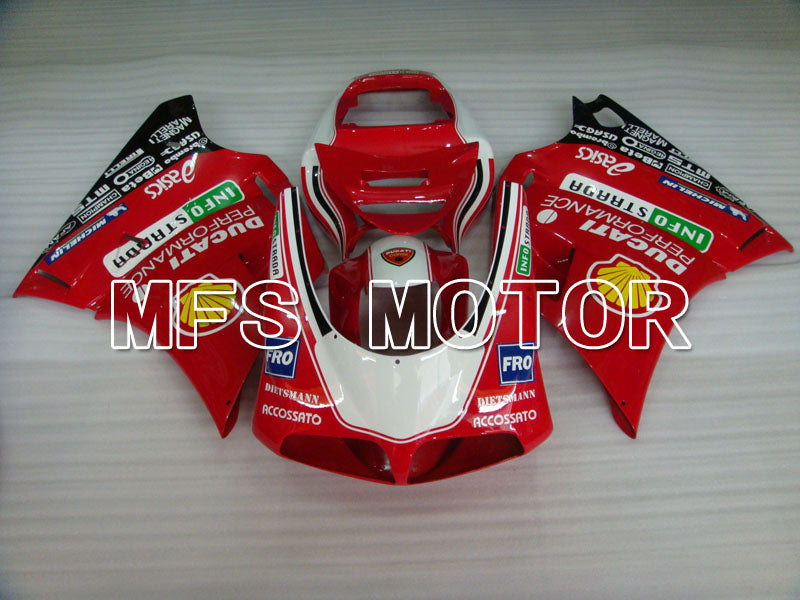 Injection ABS Fairing For Ducati 916 1994-1998 - INFO STRADA - Red - MFS4040 - shopping and wholesale