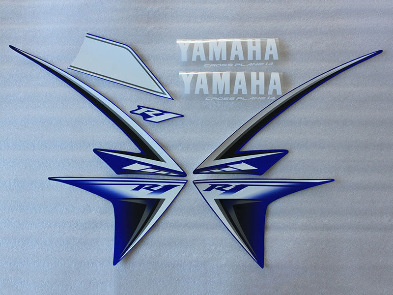 Motorcycle Fairings Decal / Sticker Yamaha - YZF-R1 - 2009-2012