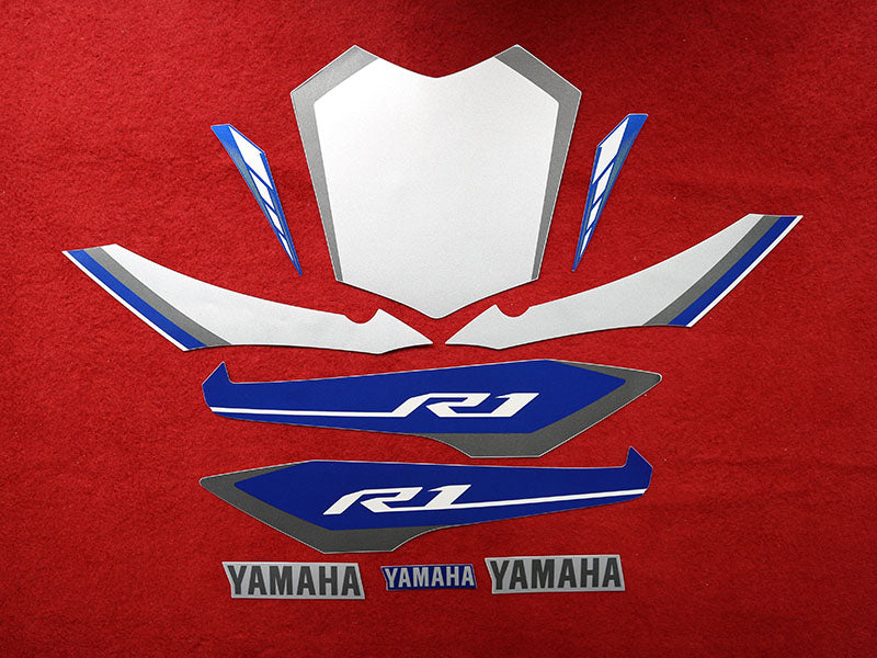 Yamaha R1 Sportbike Vinyl Decal Your Color Choice Sticker