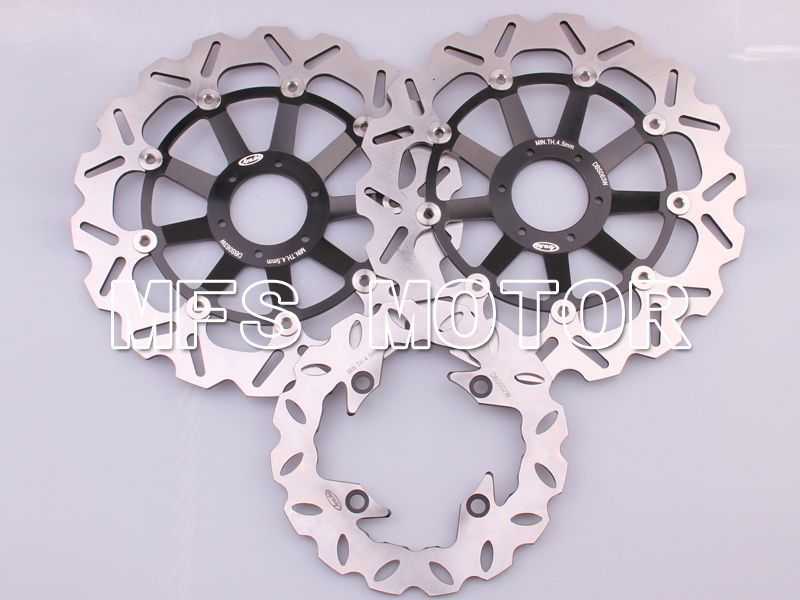Front Rear Brake Rotors Disc For Honda CBR900RR 919 98-99