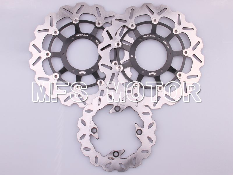 Front Rear Brake Rotors Disc For Honda CBR1000RR 04-05 CBR600RR F5 03-12